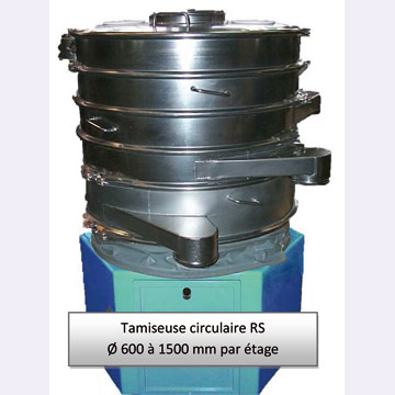Tamiseuse circulaire RS
