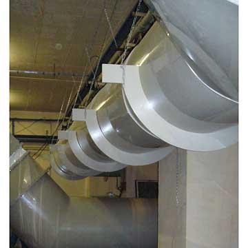 Gaine De Ventilation Cadiou Chaudronnerie Plastique