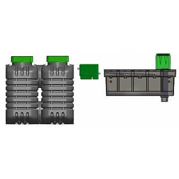 Microstation d'épuration individuelle Oxyfiltre 9