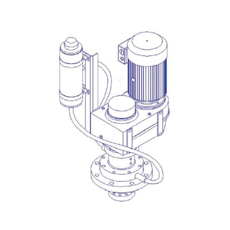 Helisem Agitateurs Serie VT - Type VTE VTL