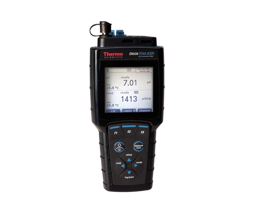 Multimètre portable pour pH / conductivité