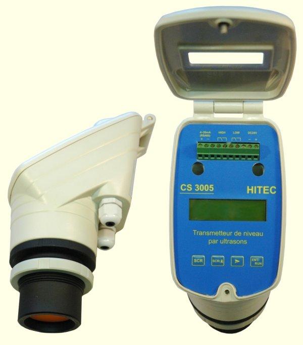 CS3005 - Transmetteur de niveau à ultrasons compact