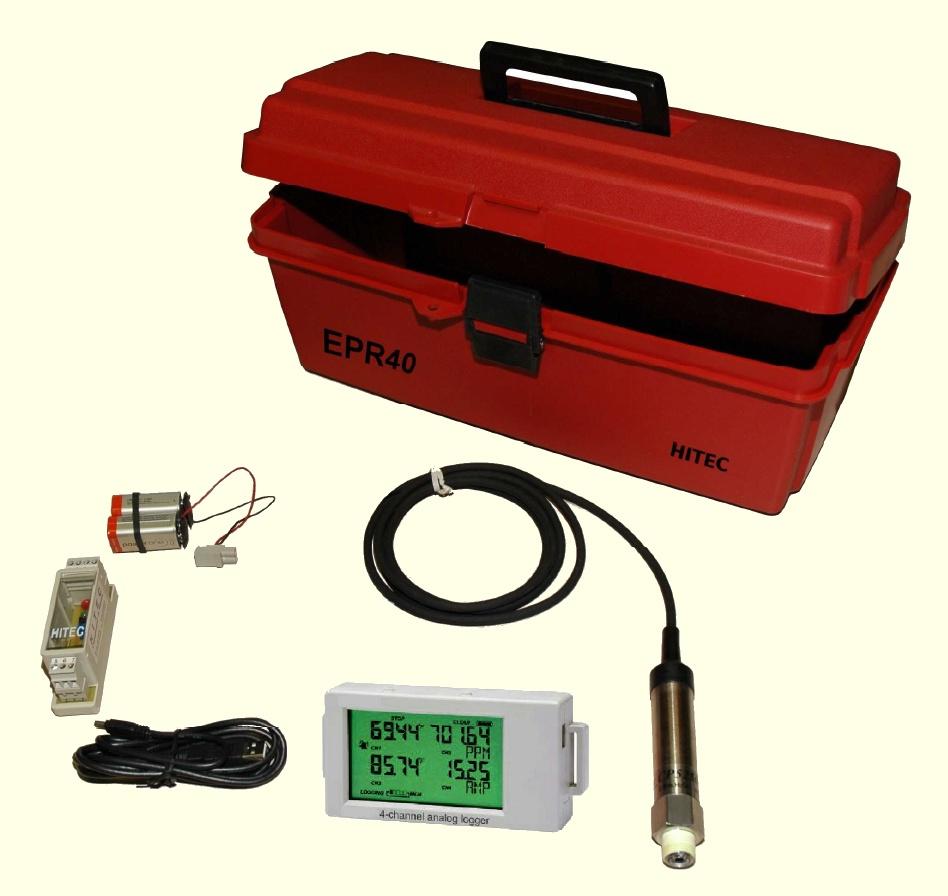 Enregistreur de pression pour réseau d'eau EPR40