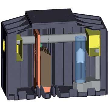 Séparateur d'hydrocarbures PEHD