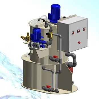 Préparateur de polymère en émulsion