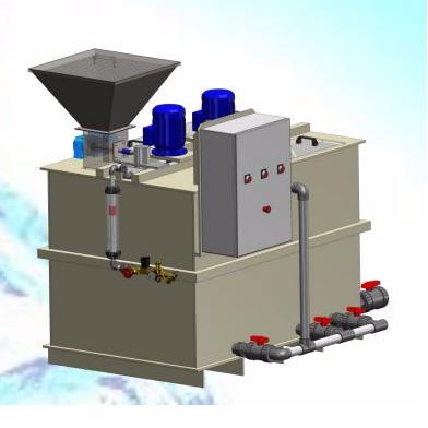 Préparateur de polymère en poudre