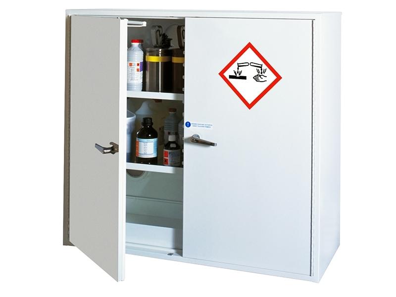 ARMCODP110-120 - ARMOIRE DE SÉCURITÉ pour produits CORROSIFS - Double paroi Fermeture automatique