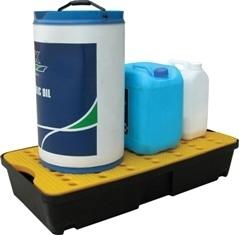 BRP30L - bac de rétention avec caillebotis - 30 litres