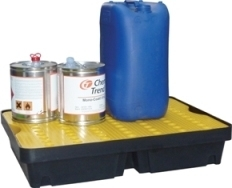 BRP40L - bac de rétention avec caillebotis - 40 litres