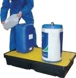 BRP60L - bac de rétention avec caillebotis - 60 litres