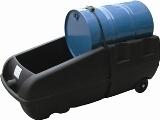 Bac de rétention PHED mobile stockage 1 fut 2 roues rétention 250 l - BRPN 1FM