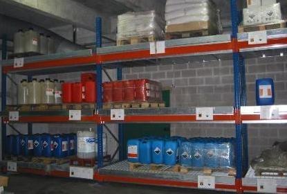 BRAG RY2680-720 - Bac de rétention pour rayonnage - 720 litres