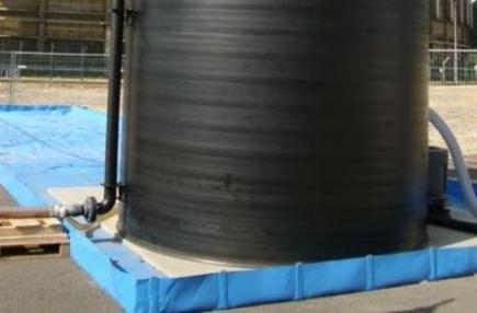 Bac de rétention souple pliable 12000 litres - BRSO 12000