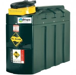 Cuve d'huiles usagées - Capacité rétention 1000 L - CDPHU1000H