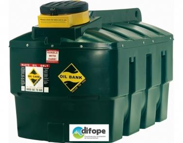 Cuve de stockage pour huiles usées - Stockage en extérieur - CDPHU2500H